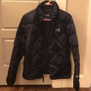 The North Face puff coat